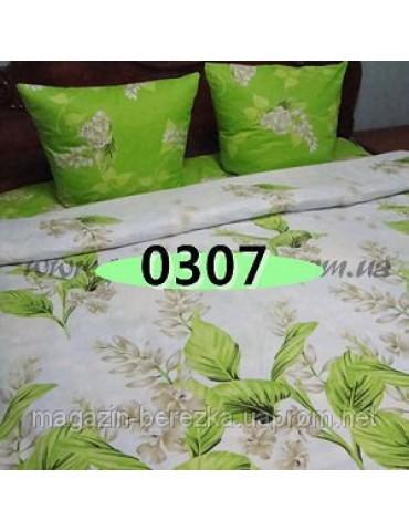 Евро-комплект постельного белья из бязи, Арт. 0307