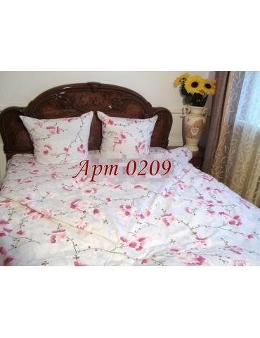 Евро-комплект постельного белья из бязи, Арт. 0209
