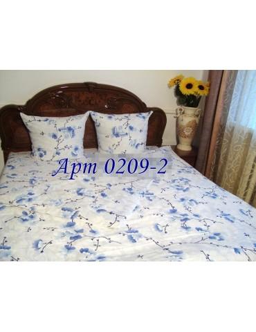 Евро-комплект постельного белья из бязи, Арт. 0209-2