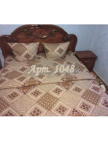 Евро-комплект постельного белья из бязи, Арт. 1048
