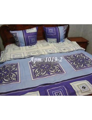Евро-комплект постельного белья из бязи, Арт. 1019-2