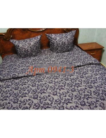 Евро-комплект постельного белья из бязи, Арт. 0941-3