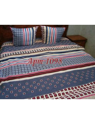 Евро-комплект постельного белья из бязи, Арт. 1098