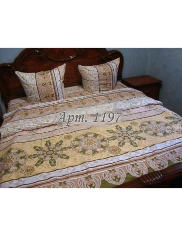Комплект постельного БЯЗЬ оптом и в розницу, Абстракция оливковая 1197