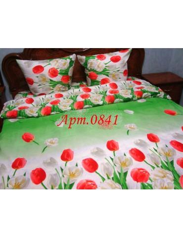 Комплект постельного БЯЗЬ оптом и в розницу, Тюльпаны 0841