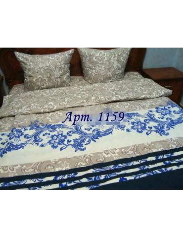 Комплект постельного БЯЗЬ оптом и в розницу, Серо-голубая абстракция 1159