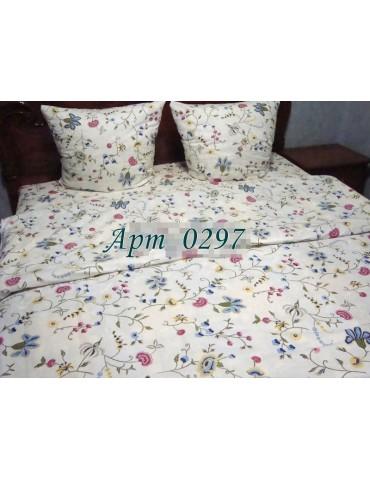 Комплект постельного БЯЗЬ оптом и в розницу, Цветочный мотив 0297