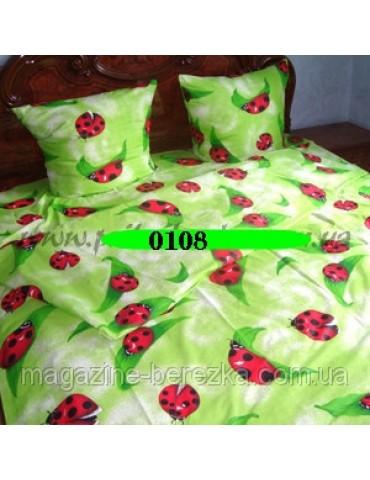 Семейный комплект постельного белья из бязи, Арт. 0108