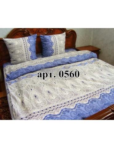 Семейный комплект постельного белья из бязи, Арт. 0560