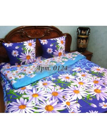Семейный комплект постельного белья из бязи, Арт. 0124