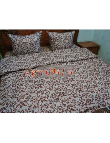 Семейный комплект постельного белья из бязи, Арт. 0941-4