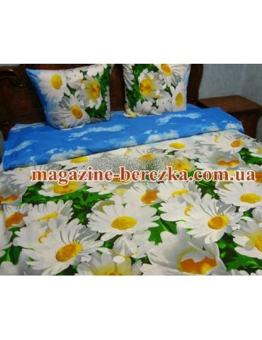 Семейный комплект постельного белья из бязи, Арт. 0734