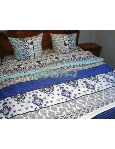 Семейный комплект постельного белья из бязи, Арт. 0979-2