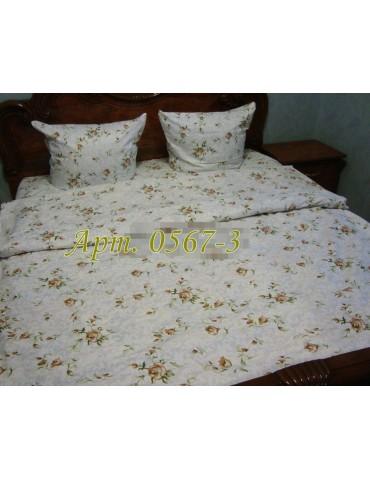 Семейный комплект постельного белья из бязи, Арт. 0567-3