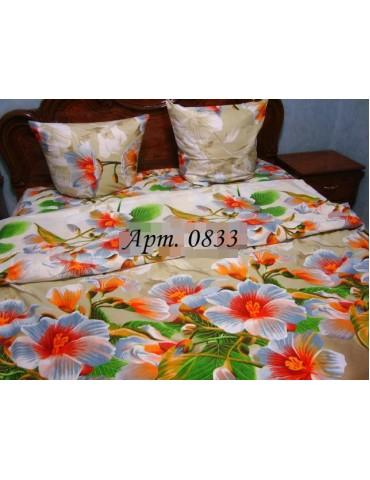 Семейный комплект постельного белья из бязи, Арт. 0833