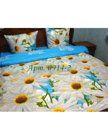 Семейный комплект постельного белья из бязи, Арт. 0914-2