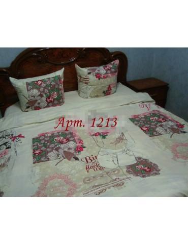 Семейный комплект постельного белья из бязи, Арт. 1213