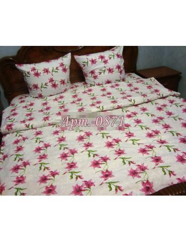 Семейный комплект постельного белья из бязи, Арт. 0871
