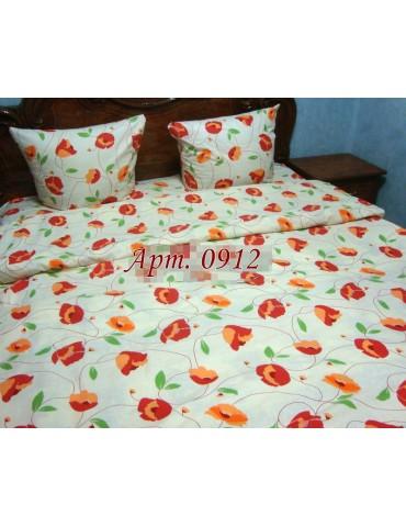 Семейный комплект постельного белья из бязи, Арт. 0912