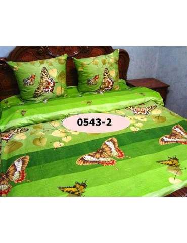 Семейный комплект постельного белья из бязи, Арт. 0543-2