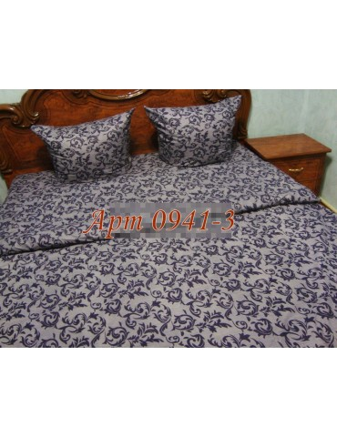 Семейный комплект постельного белья из бязи, Арт. 0941-3
