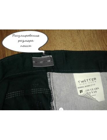 """Коттоновые брюки для мальчика """"Twitter"""". размер 6 лет"""