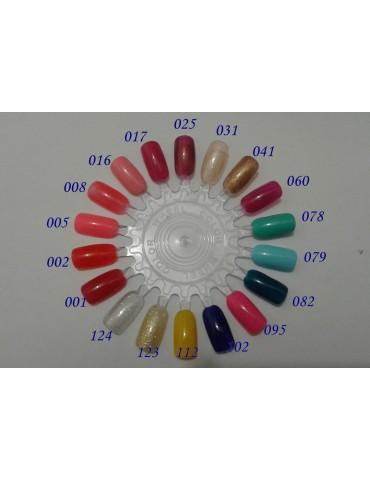 Гель-лак CND 's, розовый перламутр (полупрозрачный) гл-031