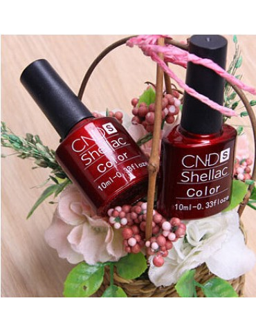 Гель-лак CND 's, персиковый ( нежнейший розово-персиковый оттенок, плотный гель-лак) гл-050