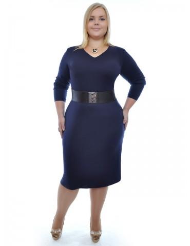 Базовое платье большого размера ДК-327