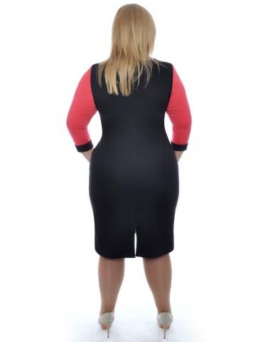 """Нарядное платье большого размера """"Солнышко"""" ДК-2"""
