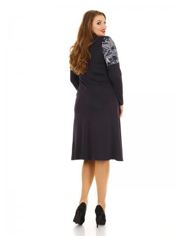 Повседневное платье больших размеров ДК-1108