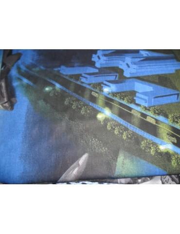 """Детское постельное """"Трансформеры"""" ранфорс рисунок 3Д 0848"""