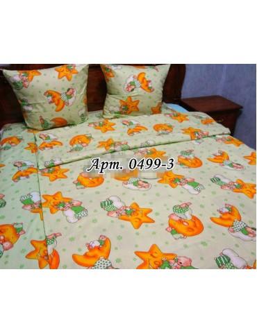 Постельное в детскую кроватку, манеж Звездочки зел 0499-3 М