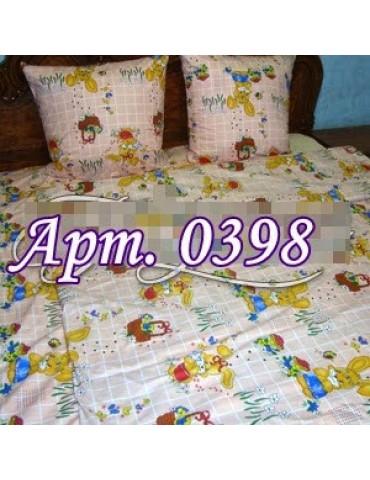 Постельное в детскую кроватку, манеж 0398 М