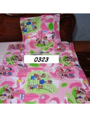 Постельное в детскую кроватку, манеж 0323 М