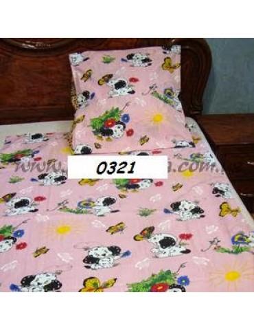 Постельное в детскую кроватку, манеж 0321 М