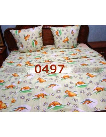 Постельное в детскую кроватку, манеж 0497 М