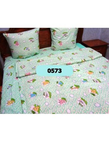 Постельное в детскую кроватку, манеж Мечты 0573 М