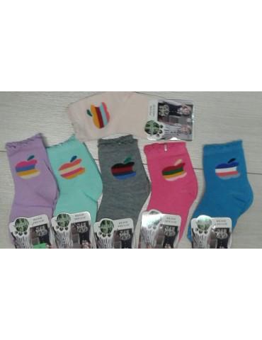 "Носки для девочки ""Зайка"" размер 21-24"