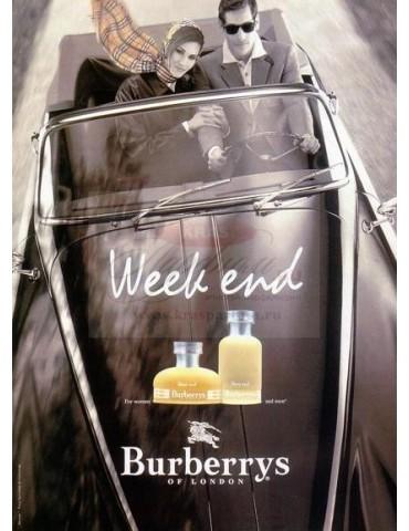 Туалетная вода для женщин Burberry Weekend for Women edp 100 мл
