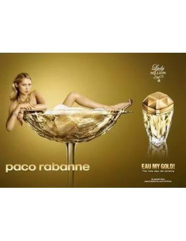 Туалетная вода для женщин Paco Rabanne Lady Million Eau My Gold 100 мл