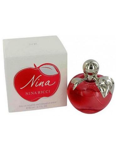 Туалетная вода для женщин Nina Ricci Nina (Apple)(красн.ябл) 80 мл