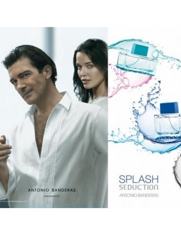 Туалетная вода для мужчин Antonio Banderas Splash Blue Seduction for Men 100 мл