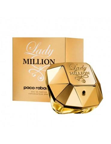 Парфюмированная вода для женщин Paco Rabanne Lady Million 80 мл