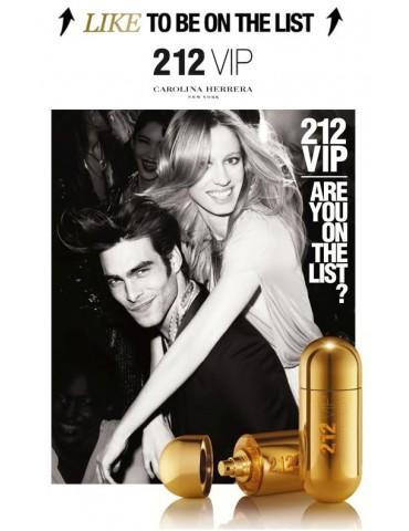 Парфюмированная вода для женщин Carolina Herrera 212 VIP Gold edp 100 мл