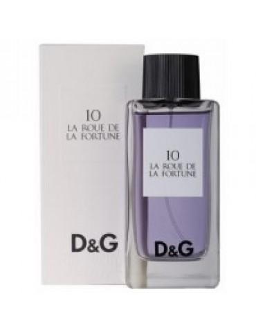 Туалетная вода унисекс Dolce & Gabbana 10 La Roue De La Fortune 100 мл