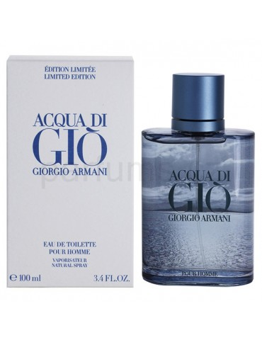 Туалетная вода для мужчин Giorgio Armani Acqua di Gio Blue Edition Pour Homme 100 мл