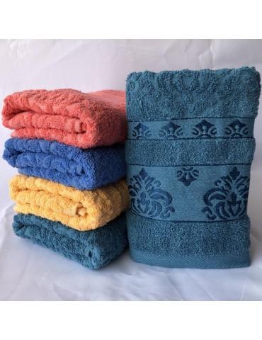 БАННОЕ махровое полотенце . Махровые полотенца оптом 139-1