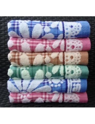 БАННОЕ полотенце ЛЕН+махра. Махровые полотенца оптом 58-1