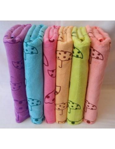 ЛИЦЕВОЕ полотенце Зонтики, Махровые полотенца фото 38-2